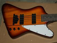 Wholesale Honey Burst Custom Guitar - factory custom New Arrival Chinese Bass 4 Strings Electric Bass Honey Burst Bass Guitar