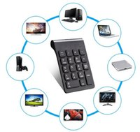 Großhandel 2.4GHz Wireless Keyboard USB Numeric Keypad 18Keys Mini Digital Keyboard Ultra Slim Nummernschild für Compute PC Laptop gelten