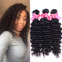 Deep curly hair weave uk free uk delivery on deep curly hair natural color 100g deep wave malaysian deep wave hair weave bundles 3pc lot peruvian indian brazilian pmusecretfo Images