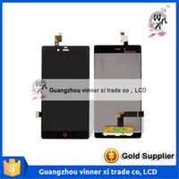 Wholesale Chinese Replacement Phone Screens - For ZTE Nubia Z9 mini LCD Display +Touch Screen Sensor Complete Digitizer Replacement For ZTE Z9 mini NX511J Mobile Phone