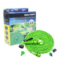 Wholesale Expandable Garden - 25FT-200FT Garden Hose Triple Expandable Magic Flexible Water Hose EU Hose Plastic Hoses Pipe With Spray Gun To Watering 30Pcs By DHL Fedex