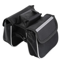 Wholesale Bicycle Cycling Frame Pannier Saddle Front Tube Bag Both Side Double Pouch