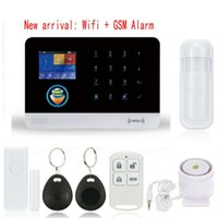 Wholesale Alarm Home Wifi - New Alarm Systems Security Home GSM+Wifi+GPRS, APP Controlled Alarm System & Home WiFi Alarm System G6