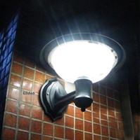 ingrosso china gardening-LED Solar Lights Lampada da parete da giardino 200LM 20LEDs 23cm ABS Pannello solare esterno a luce diretta Direttamente da Shenzhen China Factory Eildon