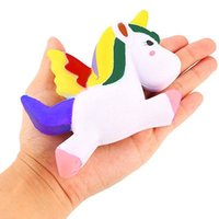 spinning top rose - 1Pc CM Cute Unicorn Squishy Slow Rising Cartoon Doll Kids Boy Girl Children Press Animal Collectibles Spinning Top Cute Toy