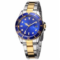 Wholesale Bronze Male - relogio masculino mens watches Luxury wist fashion Black Dial With Calendar Bracklet Folding Clasp Master Male giftluxury Mens Watches 004