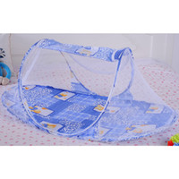 Wholesale Type Mosquito Gauze - Baby's Portable mosquito nets Newborns Physical anti-mosquito nets infants bed-curtain 3colors 110*60*38cm