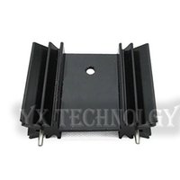 Wholesale Mos Case - Wholesale- 5pcs MOS transistor tube radiator cooling fins IC 25*34*12MM