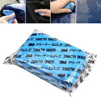 Vente en gros-bleu Pratique Magic Car Surface Clean Clay voiture Detailing Clay Cleaning Bar