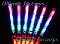 Wholesale Toy Wands - DHA39-1 LED Flash Light Up Wand Glow Sticks Kids Toys For Holiday Concert Christmas Party XMAS Gift Birthday