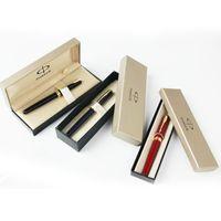 caja de bolígrafo parker al por mayor-Promoción al por mayor! Envío gratis caja de bolígrafos parker Sonnet Im plumas material de oficina parker original pluma boxr