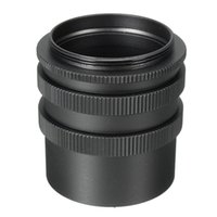 Wholesale Tube Extensions For Cameras - Wholesale- M42 Metal Macro Extension Tube 3 Ring L8D Set Adapter For M42 42mm Screw Mount Digital SLR Camera Lens
