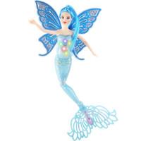 Wholesale Ariel Mermaid Plush - LED Light Flash Fashion kids toys mermaid dolls Girls toys Swimming Moxie Doll Princess Ariel Bonecas Girls dolls Toy For Birthday Gifts