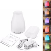 Wholesale Incense Oil Diffuser - 2017 new hot 12V 7w aroma diffuser 6 colors Colorful night light ultrasonic mute aromatherapy essential oils diffusers home diffuser