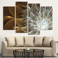 Wholesale Large Wall Modern Impressionist - 4PC Large The US HD Print On Canvas Oil Painting Home Wall Bedroom Deco Art Oil Painting Modern Abstract Oil Painting Poster NEW (NO FRAMED