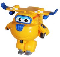 original hot wings - 1PCS Hot Super Wings planes cartoon super wings donnie no original box Transformation toys Action Figure for children Christmas gift
