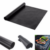 Wholesale grill accessories wholesale - 2018 hot BBQ grill baking mats barbecue baking mat Non-stick Reusable pad Sheet bake accessories BBQ TOOL