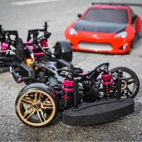 Wholesale Rc Car Frames - Wholesale- FREE SHIPPING RWD 4WD 3RACING drive 4WD drift frame CS D4 professional RC CARS