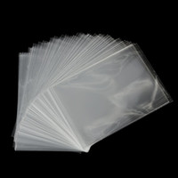 100Pcs New Clear Sweets Cookies Lollipops Cake Cellophane Sacos Embalagem Candy Cookie Plastic Bag Wedding Birthday Party
