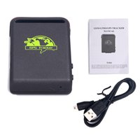 Wholesale Spy Car Gps Tracking Device - Mini Spy Car Person Pet Waterproof Magnet GPS GSM GPRS Tracker Vehicle Real time TK102B GPS tracking Device