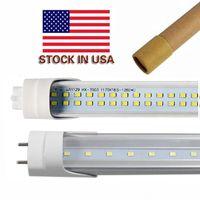 Wholesale epistar led tube t8 18w - Stock In US + bi pin 4ft led t8 tubes Light 18W 22W 28W Double Rows T8 Replace regular Tube AC 110-277V UL FCC