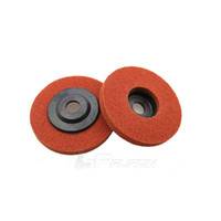 Wholesale 16mm Nylon - 2 pieces *12*16mm A O Nylon Grinding Disc 7P 180# Non-woven Unitized Disc Special for Soft Metal Angle Grinder Tool