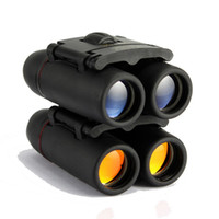 Wholesale Night Scopes - 30x60 126m 1000m Waterproof Binoculars Camping Hunting Scopes Red film and blue film pocket binocular night vision binoculars