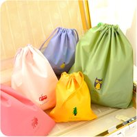 Wholesale simple fabric patterns resale online - Waterproof Storage Bags Simple Dust Proof Finishing Bag For Household Articles Creative Clothes Storage Bags Mutilp Patterns