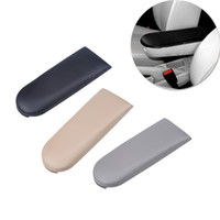 Wholesale Jetta Leather Center Console - Black Gray Beige Car Armrest Lid Cover for Volkswagen VW B5 MK4 Jetta Bora Soft PU Leather Center Console Automotive Car Styling