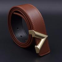 Wholesale Boys Leather Jeans - 2017 TOp V Designer Belt Buckle Luxury High Quality Genuine Leather Belts for Men Strap Ceinture Homme Women Jeans