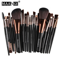 Wholesale professional blusher powder makeup for sale - Group buy MAANGE Brand Professional Cosmetic Makeup Brushes Set Blusher Eyeshadow Powder Foundation Eyebrow Lip Make up Brush kit B