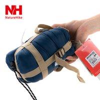 Wholesale Envelope Nh - Wholesale- NH portable mini sleeping bag outdoor camping travel envelop cotton 0.7kg