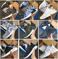 Wholesale Black Spikes Women Fashion Shoes - 2017 Men Women NMD Runner XR1 Camo x City Sock PK3 Navy NMD_XR1 Primeknit Running Shoes Fashion Casual Shoes Trainers size: 36-45