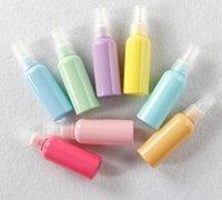Wholesale Sprayers For Plastic Bottles - FBA Custom Logo Drop Shipping 50ml Empty Spray Bottle Sprayer Bottles Perfume Container Refillable Cosmetic Atomizer For Tarvel Gift