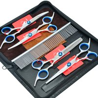 Clean Up Products blade professionals clippers - 6 Inch Meisha New Professional Pet Grooming Scissors Set Pet Scissors Cutting Thinning Curved Dog Shears Puppy Trimmer Tool HB0008