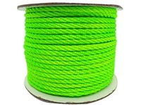 3mm Neon Green Twist Twine Nylon Cord-30m / Roll DIY Jóias Findings Acessórios Macrame Rope Shamballa Bracelet Necklace String