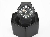 Wholesale Steel Harness - Free Shipping - New Casual Watch GAX-100- Men's Sports Watch Box, LED Chronograph, Military Watch, Men's Men's Gift, Harness