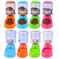 Wholesale Dog Pet Feeder Drinker - New Arrive Pet Drinkers Cat Dog 3.5L Automatic Feeder Drinking Animal Pet Food Bowl Water Bowl for Pets