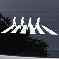 Wholesale Beatles Decals - Hot sale Beatles car stickers Funny PET Body decals Locomotive Waterproof Personalized decals Reflective film carved car stickers
