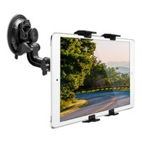Wholesale Tablet Pc Gps Onda - Wholesale- 360 Rotating Car Windshield Stand For Onda V919 3G AIR V80 Plus Obook 10 20 Universal 7-10 Inch Tablet Pc Holder Gps Support New