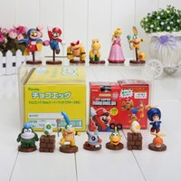 Wholesale Koopalings Mario Bros - Super Mario Bros Koopalings PVC Action Figure Collection Model Toys Dolls 13pcs set