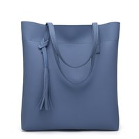 Wholesale Leather Tote Bags For Spring - Ladies' handbag 2017 spring new lychee streaks bags for women handbag leather handbags Womens handbag sets