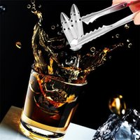 Wholesale Wine Whiskey Accessories - New Whiskey Stones Stainless Steel Ice Cubes Rocks Wine Beer Chilling Cooler Stone Home Bar Accessories ice block I103