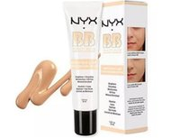 Wholesale bb beauty cream - High Quality NYX BB Cream Concealer beauty baume beaute Primer smoothes moisturizes oil free Mineral Enriched 30ml