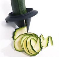 espremedor ralador venda por atacado-Utensílios de cozinha Espiralizador De Legumes De Frutas Espiral Slicer Triturador Descascador Cortador de cenoura ralador de Cozinha Acessórios de Cozinha