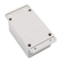 boîtiers électroniques achat en gros de-Vente en gros - Boîtier de boîtier de projet électronique en plastique étanche CAA-blanc 100 * 68 * 50mm