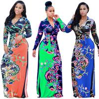 bazin kadın elbiseleri toptan satış-Afrika Geleneksel Elbiseler 2017 Afrika Kadın Giyim Afrika Bazin Riche Elbiseler Doğrudan Satış Gerçek Spandex Baskı Giysileri