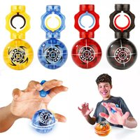 Wholesale Magnetic Gyro - New lED Magnetic Ball Finger fidget spinner Magneto Spheres Toy Ball Falshing Speed Magnetic Spheres Ball Gyro Finger Tip Toys B001