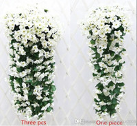 Wholesale violet rooms - White Romantic wedding anniversary room Decorations silk flowers Simulation hydrangea violet hang flowers free shipping good price hot sale