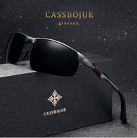 Wholesale Aluminium Wrap - Men's polarized summer fall driving sunglasses aluminium and magnesium frames sunglasses seaside shopping street ladies' leisure glasses